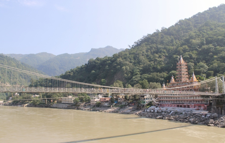 Relaxing in Rishikesh: Not What You'd Expect