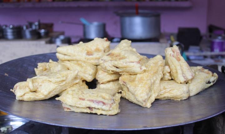 Bread Pakhoras